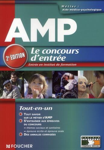 Couverture du livre « Aide médico-psychologique ; concours d'entrée (2e édition) » de A Roux-Galibert aux éditions Foucher