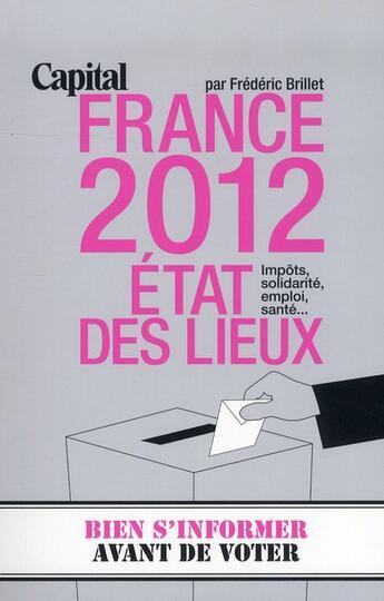 Couverture du livre « France 2012 ; état des lieux » de Frederic Brillet aux éditions Prisma