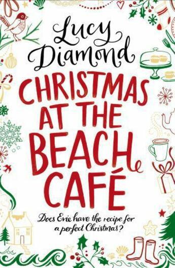 Couverture du livre « Christmas at the Beach Cafe » de Lucy Diamond aux éditions Pan Macmillan