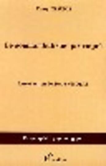 Couverture du livre « Le somnambulisme provoqué » de Henry Beaunis aux éditions L'harmattan