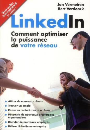 Couverture du livre « Linked'in » de Jan Vermeiren aux éditions Ma
