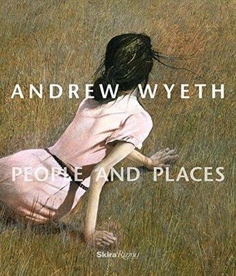 Couverture du livre « Andrew wyeth people and places /anglais » de Collectif aux éditions Rizzoli