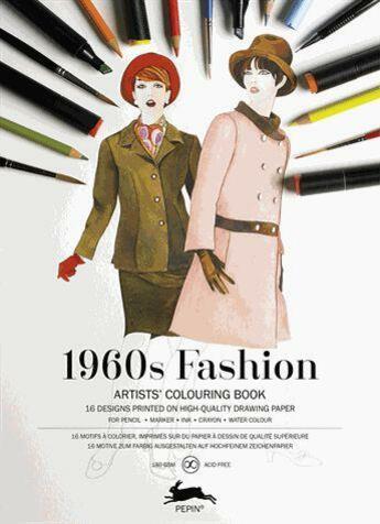 Couverture du livre « 1960s fashion » de Pepin Van Roojen aux éditions Pepin