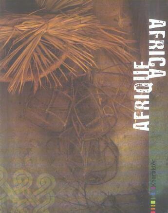 Couverture du livre « Afrique kharakter » de Cabourdin. Will aux éditions Terrail