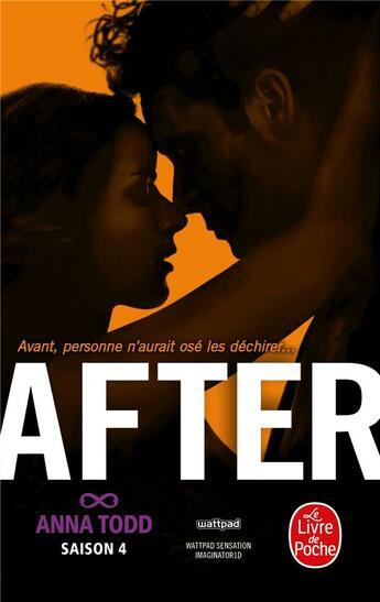 Couverture du livre « After ; saison 4 ; after we rise » de Anna Todd aux éditions Lgf