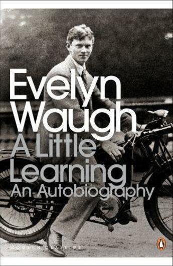 Couverture du livre « A Little Learning: The First Volume Of An Autobiography » de Evelyn Waugh aux éditions Adult Pbs