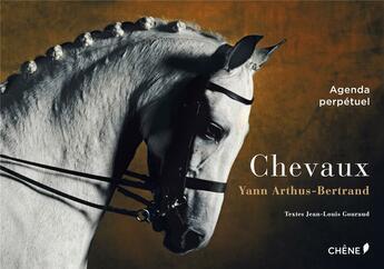 Couverture du livre « Agenda perpétuel ; chevaux » de Jean-Louis Gouraud aux éditions Chene