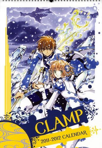 Couverture du livre « Calendrier Clamp 2011/2012 » de Collectif aux éditions Kaze