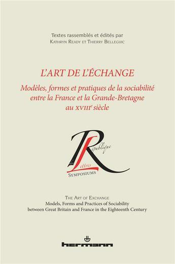 Couverture du livre « L'Art De L'Echange » de Ready-K aux éditions Hermann