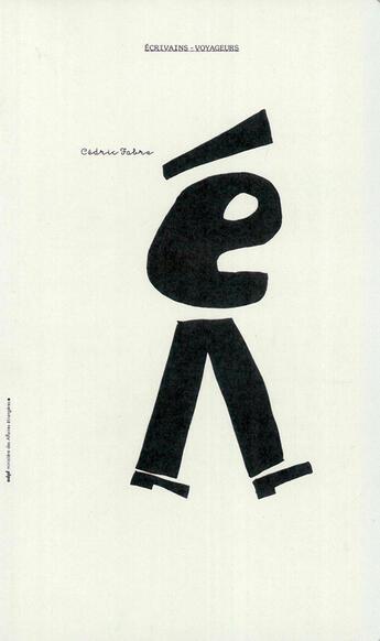 Couverture du livre « Ecrivains-voyageurs - adpf - ministere des affaires etrangeres » de Cedric Fabre aux éditions Adpf
