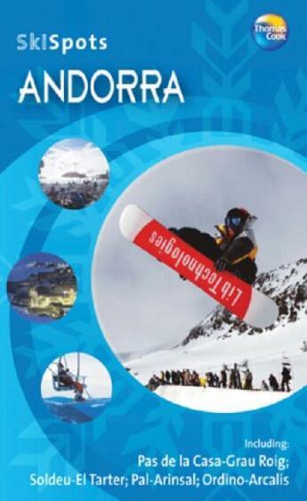 Couverture du livre « **Andorra (Ang) Skispot » de  aux éditions Thomas Cook