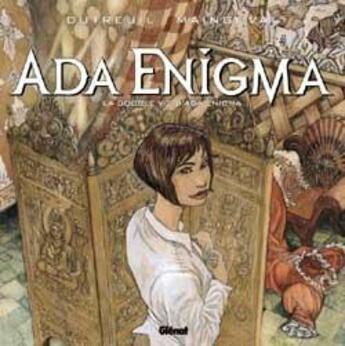 Couverture du livre « Ada Enigma t.2 ; la double vie d'Ada Enigma » de Vincent Dutreuil et Francois Maingoval aux éditions Glenat