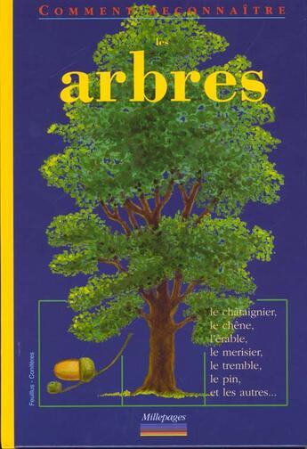 Couverture du livre « Les arbres » de  aux éditions Millepages