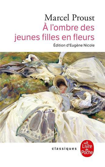 Couverture du livre « à l'ombre des jeunes filles en fleurs » de Marcel Proust aux éditions Lgf