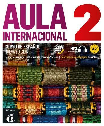 Couverture du livre « Aula international t.2 ; livre de l'élève » de Collectif aux éditions La Maison Des Langues