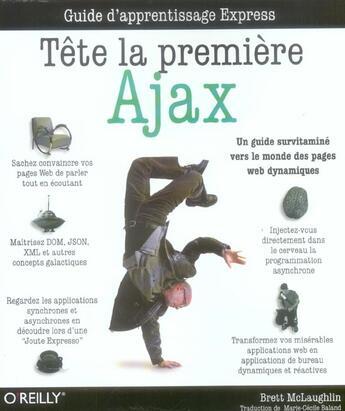 Couverture du livre « Ajax Tete La Premiere » de Mglaughlinc aux éditions O Reilly France