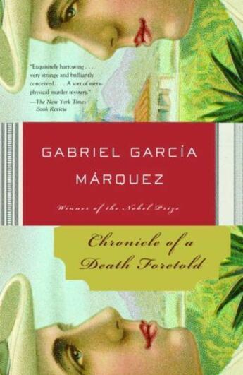 Couverture du livre « Chronicle of a death foretold » de Gabriel Garcia Marquez aux éditions Adult Pbs