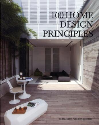Couverture du livre « 100 home design principles » de Arthur Gao aux éditions Design Media