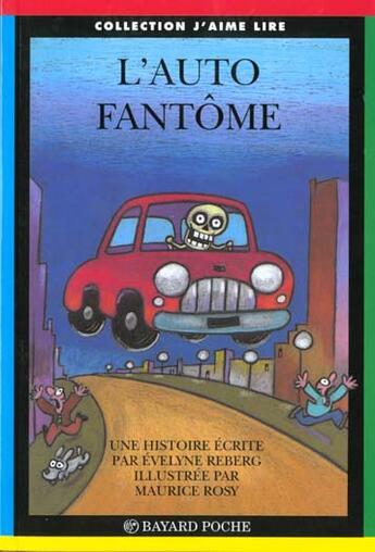 Couverture du livre « Auto Fantome » de Xxx aux éditions Bayard Jeunesse