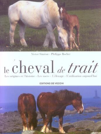 Couverture du livre « Cheval De Trait (Le) » de Simeon aux éditions De Vecchi