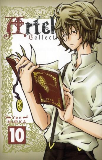 Couverture du livre « Artelier collection t.10 » de Yen Hioka aux éditions Ki-oon