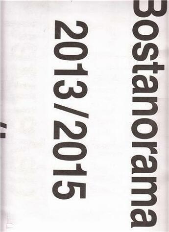 Couverture du livre « Christoph schafer bostanorama » de Schafer aux éditions Spector Books