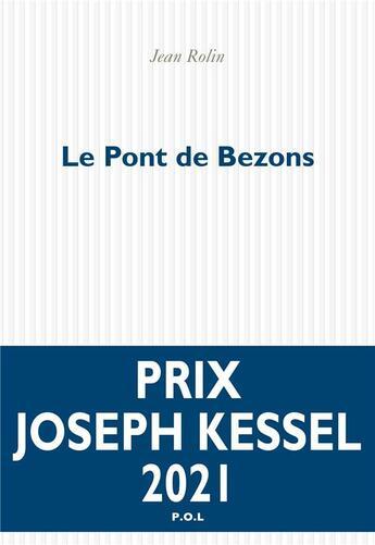 Couverture du livre « Le pont de Bezons » de Jean Rolin aux éditions P.o.l