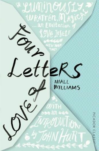 Couverture du livre « Four Letters Of Love » de Niall Williams aux éditions Pan Macmillan