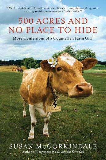 Couverture du livre « 500 Acres and No Place to Hide » de Mccorkindale Susan aux éditions Penguin Group Us