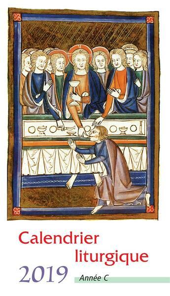 Couverture du livre « Calendrier liturgique 2019 lot 10 exemplaires (compte ferme) » de Collectif aux éditions Mediaspaul