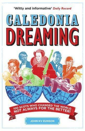 Couverture du livre « Caledonia Dreaming » de John K.V. Eunson aux éditions Hachette Scotland