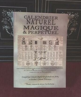 Couverture du livre « Calendrier Naturel Magique Et Perpetuel » de Fred Macparthy aux éditions Sesheta