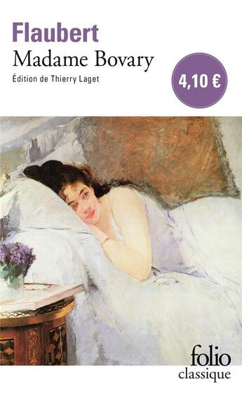 Couverture du livre « Madame Bovary » de Gustave Flaubert aux éditions Gallimard