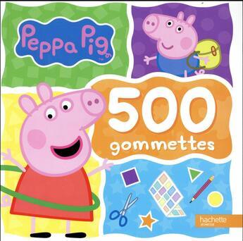 Couverture du livre « 500 gommettes » de Collectif aux éditions Hachette