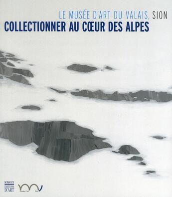 Couverture du livre « Collectionner au coeur des Alpes ; le musée d'Art du Valais, Sion » de Collectif aux éditions Somogy