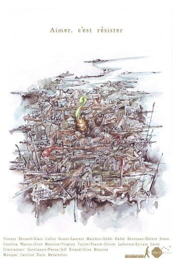 Couverture du livre « Aimer, c'est résister » de Collectif aux éditions Edicool