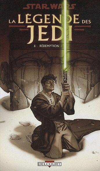 Couverture du livre « Star Wars - la légende des Jedi t.6 ; rédemption » de Kevin J Anderson et Dario Carrasco aux éditions Delcourt