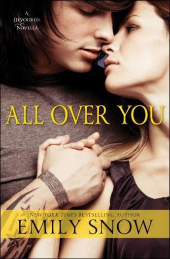 Couverture du livre « All Over You » de Snow Emily aux éditions Touchstone