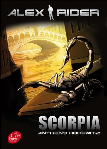 Couverture du livre « Alex Rider t.5 ; scorpia » de Anthony Horowitz aux éditions Hachette Jeunesse