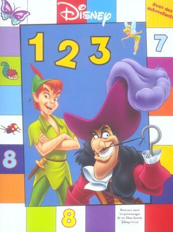 Couverture du livre « 1,2,3, Je Grandis Avec Disney » de Disney aux éditions Disney Hachette