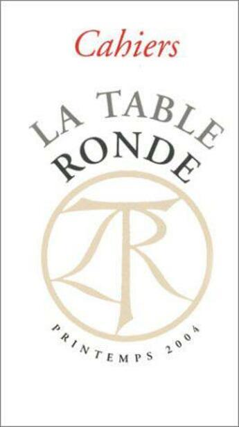 Couverture du livre « Cahiers » de Collectif aux éditions Table Ronde