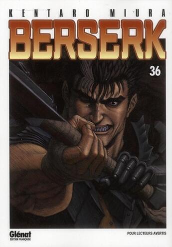 Couverture du livre « Berserk T.36 » de Kentaro Miura aux éditions Glenat