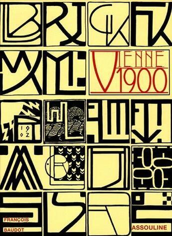 Couverture du livre « Vienne, 1900 » de Francois Baudot aux éditions Assouline