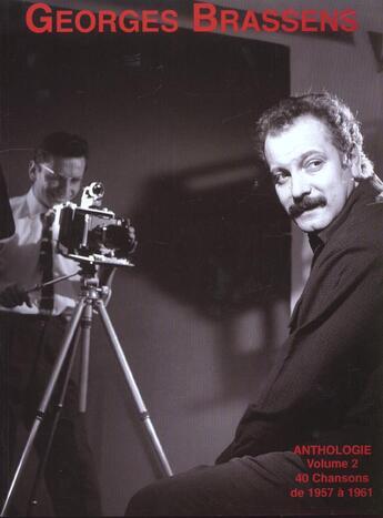 Couverture du livre « Anthologie T.2 ; Georges Brassens » de Georges Brassens aux éditions Carisch Musicom