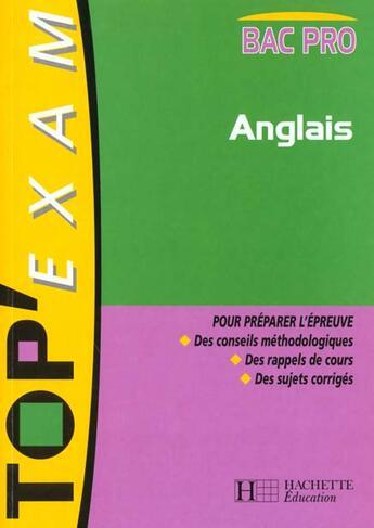 Couverture du livre « Anglais Bac Pro » de S Gouchet et P Marsh aux éditions Hachette Education