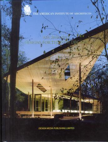 Couverture du livre « AIA 2010-2012 ; designs of the new decade » de Collectif aux éditions Design Media
