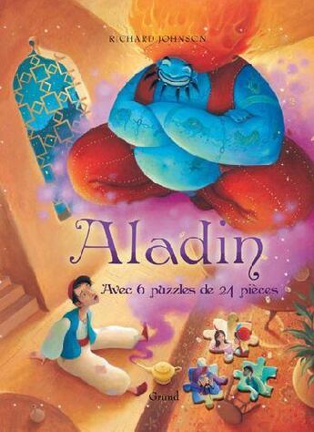 Couverture du livre « Aladin » de Johnson Richard aux éditions Grund