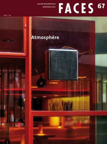 Couverture du livre « Faces T.67 ; Atmosphère » de Collectif aux éditions Infolio