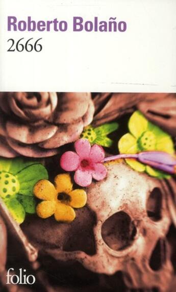 Couverture du livre « 2666 » de Roberto Bolano aux éditions Gallimard
