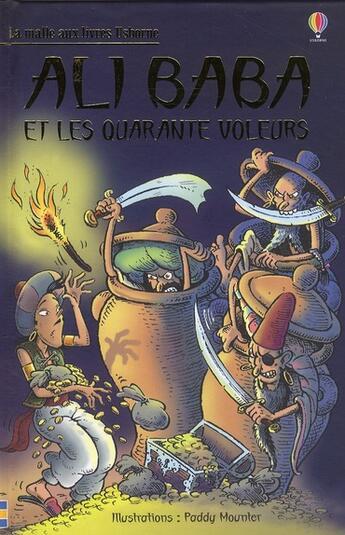Couverture du livre « Ali Baba et les quarante voleurs » de Paddy Mounter aux éditions Usborne